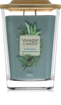 Yankee Candle Elevation Coastal Cypress lumânare parfumată  552 g mare
