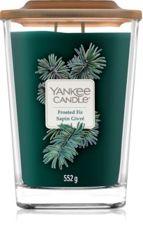 Yankee Candle Elevation Frosted Fir lumânare parfumată  552 g mare
