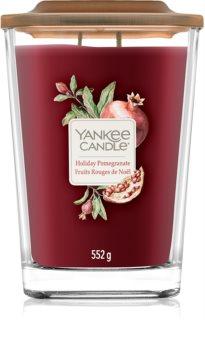 Yankee Candle Elevation Holiday Pomegranate ароматизована свічка  552 гр велика