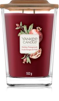 Yankee Candle Elevation Holiday Pomegranate vela perfumado 552 g grande