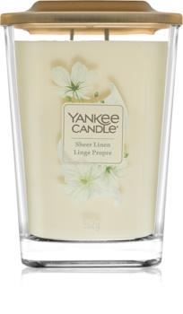 Yankee Candle Elevation Sheer Linen Αρωματικό κερί 552 γρ μεγάλη