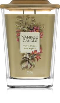 Yankee Candle Elevation Velvet Woods lumânare parfumată  552 g mare