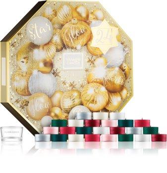 Yankee Candle Holiday Sparkle подарунковий набір новорічний календар I.