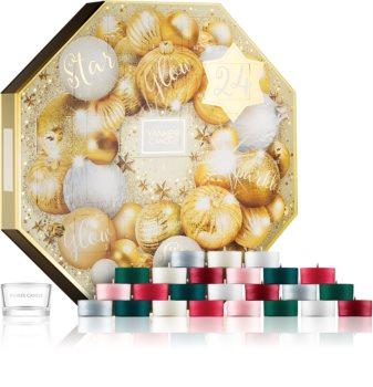 Yankee Candle Holiday Sparkle ajándékszett adventní kalendář I.