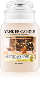 Yankee Candle Winter Wonder vonná svíčka 623 g Classic velká