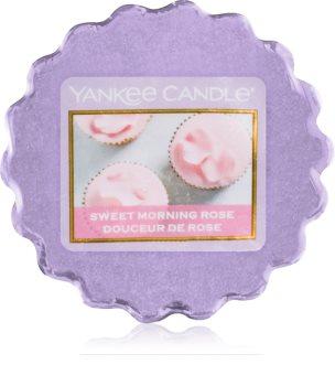 Yankee Candle Sweet Morning Rose cera para lámparas aromáticas