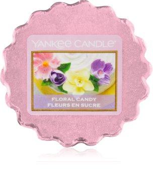 Yankee Candle Floral Candy cera para lámparas aromáticas