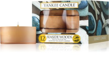 Yankee Candle Seaside Woods vela de té