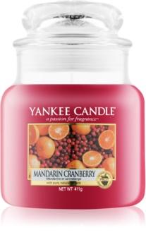 Yankee Candle Mandarin Cranberry vonná sviečka 411 g Classic stredná