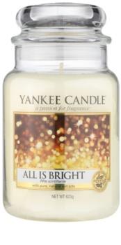 Yankee Candle All is Bright vela perfumada 623 g Classic grande