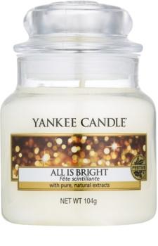 Yankee Candle All is Bright świeczka zapachowa  105 g Classic mała