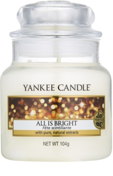 Yankee Candle All is Bright vela perfumada 105 g Classic pequeno