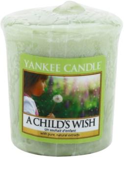 Yankee Candle A Child's Wish votivna sveča 49 g