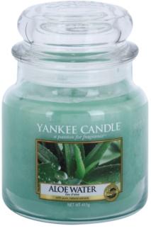 Yankee Candle Aloe Water vela perfumada Classic médio  411 g