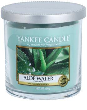 Yankee Candle Aloe Water vela perfumado 198 g Décor pequena