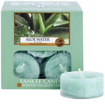Yankee Candle Aloe Water čajová sviečka 12 x 9,8 g
