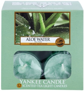 Yankee Candle Aloe Water candela scaldavivande 12 x 9,8 g