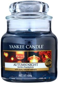 Yankee Candle Autumn Night vonná sviečka Classic malá