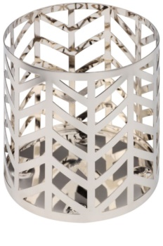Yankee Candle Arrow Chrome Scented Candle Holder   Décor
