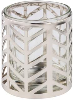 Yankee Candle Arrow Chrome porta-candele votive in vetro