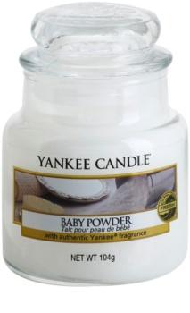 Yankee Candle Baby Powder bougie parfumée 104 g Classic petite