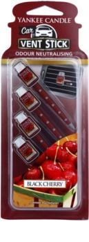 Yankee Candle Black Cherry ambientador de coche para ventilación 4 ud