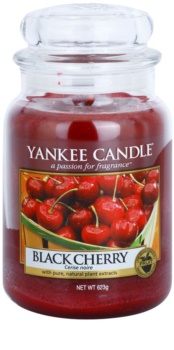 Yankee Candle Black Cherry lumânare parfumată  623 g Clasic mare