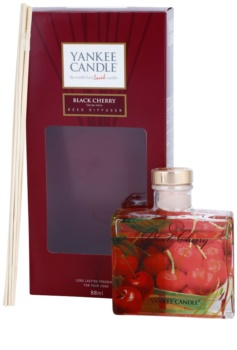 Yankee Candle Black Cherry Aroma Diffuser With Refill 88 ml Signature