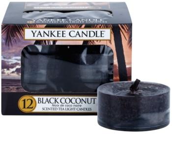 Yankee Candle Black Coconut čajová svíčka 12 x 9,8 g
