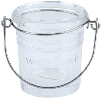 Yankee Candle Glass Bucket porte-bougie votive en verre