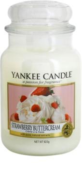 Yankee Candle Strawberry Buttercream bougie parfumée 623 g Classic grande