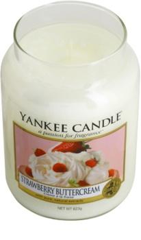 Yankee Candle Strawberry Buttercream vonná svíčka 623 g Classic velká