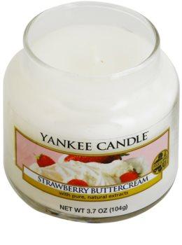 Yankee Candle Strawberry Buttercream vela perfumada  104 g Classic pequeña