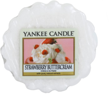 Yankee Candle Strawberry Buttercream cera per lampada aromatica 22 g