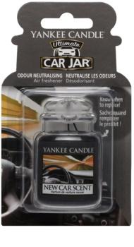 Yankee Candle New Car Scent odświeżacz do samochodu   wiszące