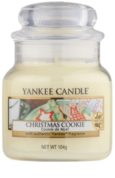 Yankee Candle Christmas Cookie lumânare parfumată  104 g Clasic mini