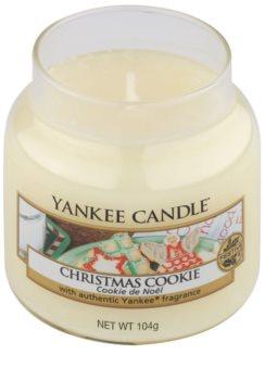 Yankee Candle Christmas Cookie ароматизована свічка  104 гр Classic  маленька