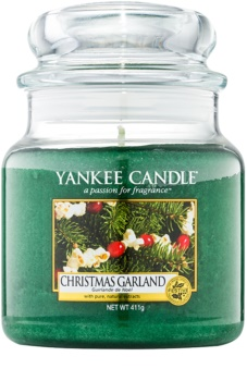 Yankee Candle Christmas Garland candela profumata 411 g Classic media