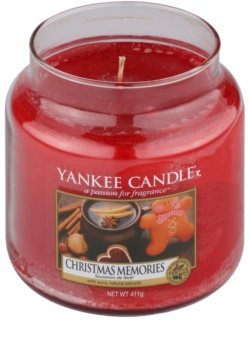 Yankee Candle Christmas Memories Duftkerze  411 g Classic medium