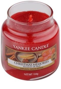 Yankee Candle Christmas Memories świeczka zapachowa  104 g Classic mała