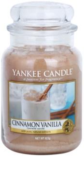 Yankee Candle Cinnamon Vanilla illatos gyertya  623 g Classic nagy méret