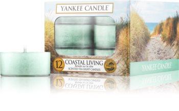 Yankee Candle Coastal Living vela do chá 12 x 9,8 g