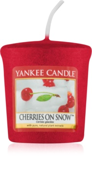 Yankee Candle Cherries on Snow Votive Candle 49 g