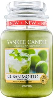Yankee Candle Cuban Mojito ароматна свещ  623 гр. Classic голяма