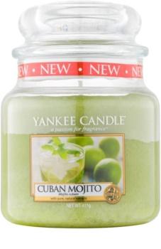 Yankee Candle Cuban Mojito vonná svíčka Classic střední 411 g