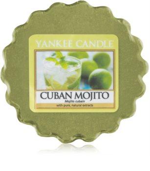 Yankee Candle Cuban Mojito cera para lámparas aromáticas 22 g