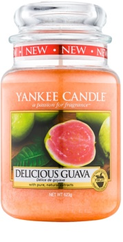 Yankee Candle Delicious Guava Duftkerze  623 g Classic groß