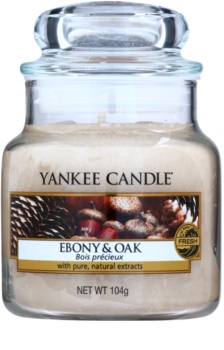 Yankee Candle Ebony & Oak vela perfumado 104 g Classic pequeno