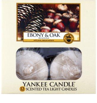 Yankee Candle Ebony & Oak vela de té 12 x 9,8 g