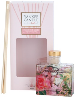 Yankee Candle Fresh Cut Roses dyfuzor zapachowy z napełnieniem 88 ml Signature